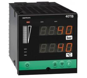 Zobrazovač teploty, tlaku, alarm meznich hodnot Gefran 40TB